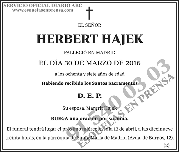 Herbert Hajek